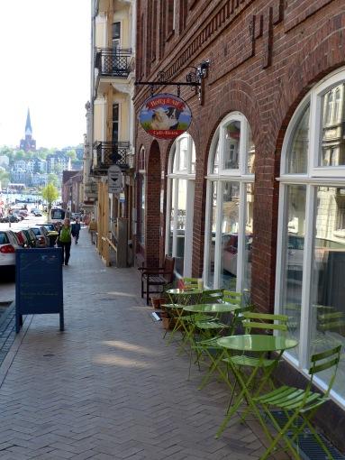 Straßencafé.